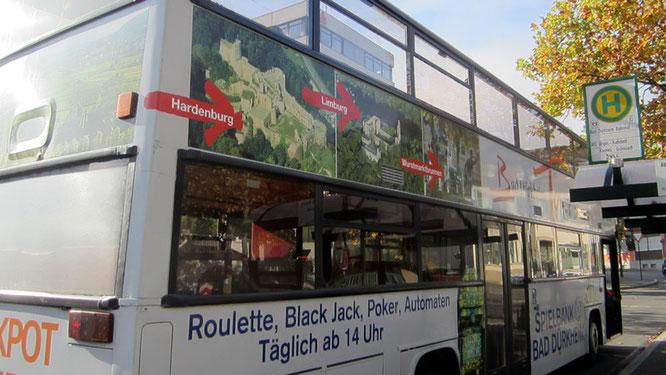 Cabrio-Doppeldeckerbus