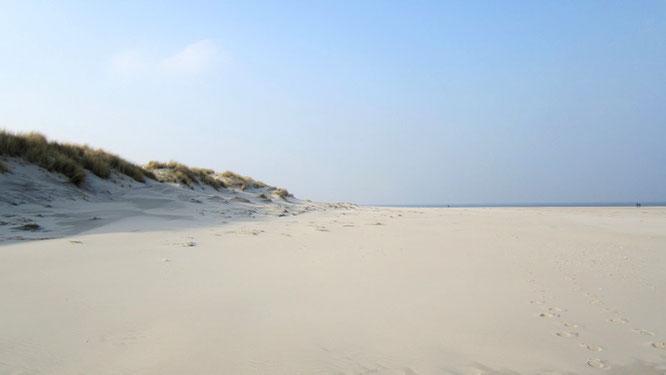 Ein Strand ganz für uns alleine