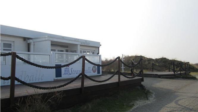 Die Strandhalle - einsam und verlassen