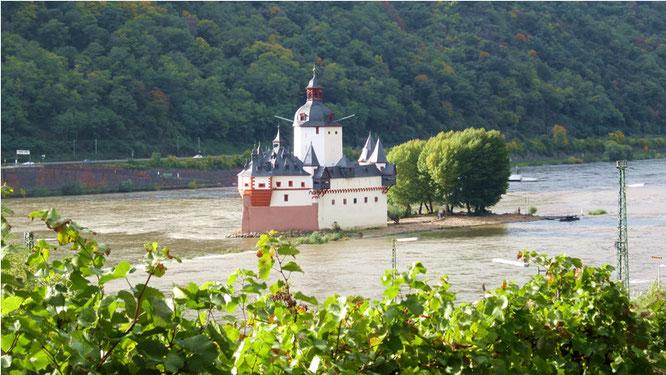 Burg Pfalzgrafenstein bei Kaub am Rhein