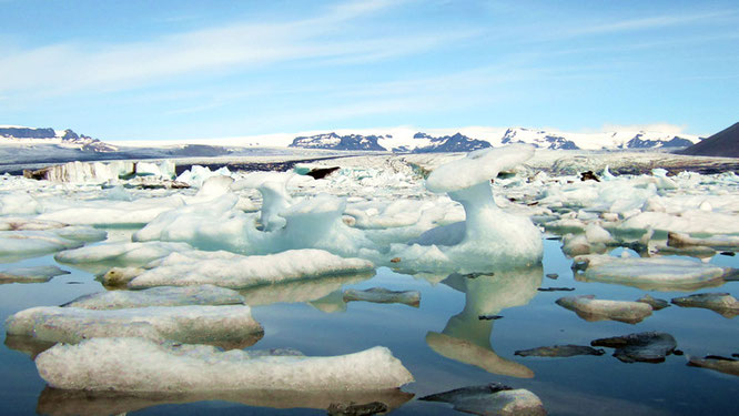 Gletscher-Lagune Jökulsárlón