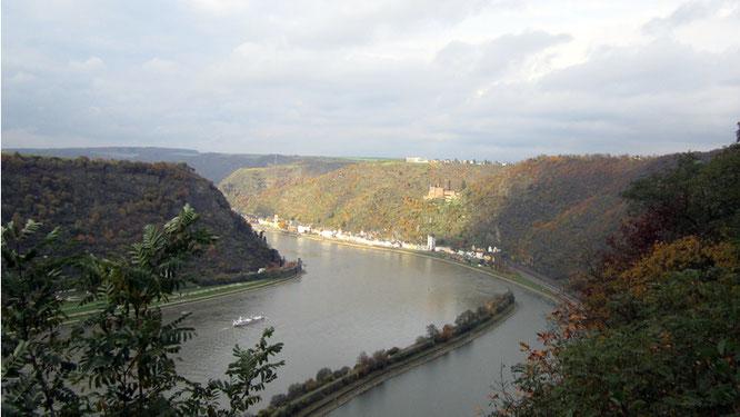 Blick auf St. Goarshausen