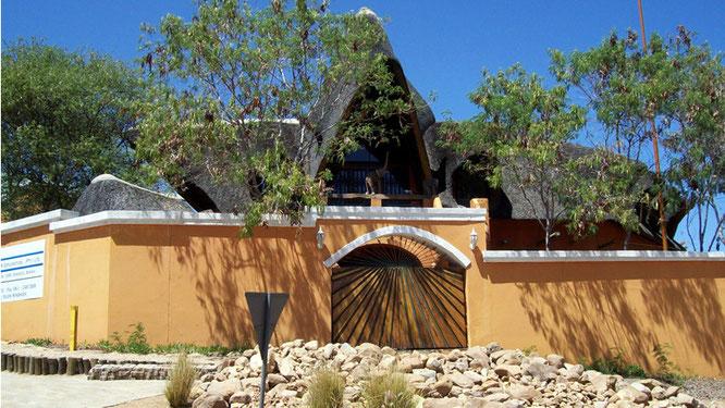 Reetgedecktes Haus in Windhoek