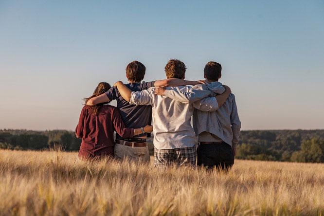 In der Pubertät werden Freunde immer wichtiger