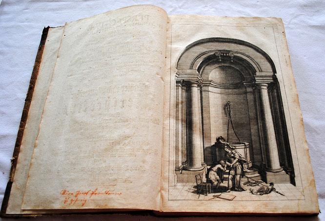 Besitzvermerk und Titelblatt