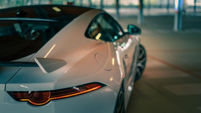 Jaguar F-Typé coupé SVR