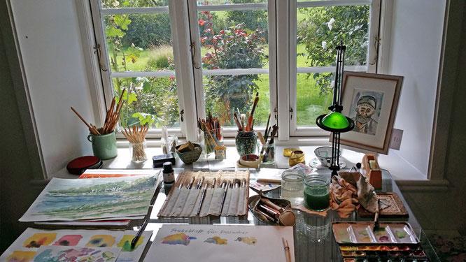 Eindruck vom Tag der offenen Ateliers