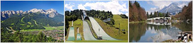 Garmisch Patenkirchen - Sprungschanze - Riessersee