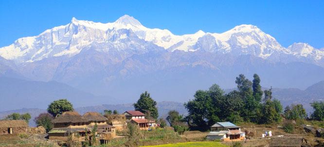 Trek chepang hills nepal - trek palpa - Tansen