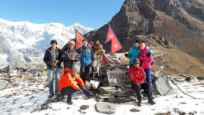Trekking Camp de Base Mardi Himal - Nepal