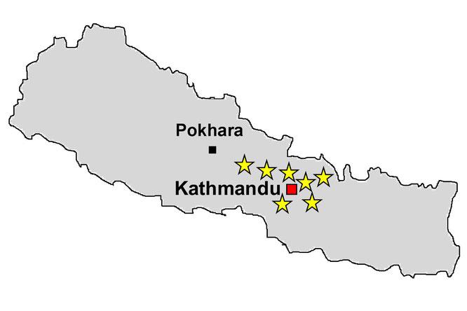 Week-end au Nepal  vallée de Kathmandu