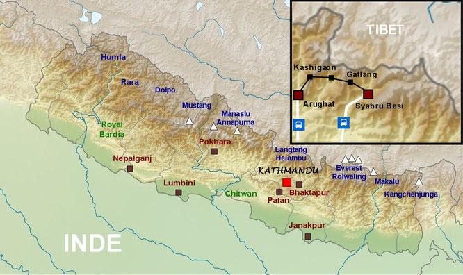 Un trekking suvage à découvrir avec Nepatrek - Ganesh Himal