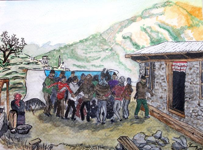 circuit spirituel népal - trek panchase