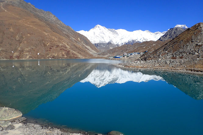 lac Gokyo - trek everest - camp de base everest