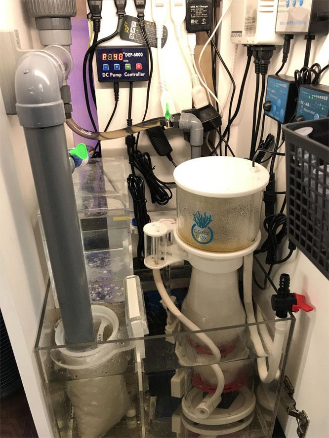 オーバーフロー水槽 DEP-6000 お勧めポンプ