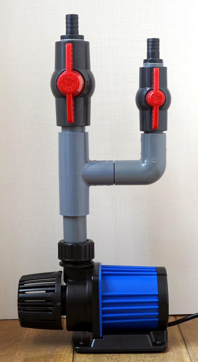 オーバーフロー水槽用 塩ビ配管 お勧め HSBAO DCポンプ