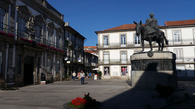 Praça da República, Viana do Castelo, Minho, Nordportugal, Portugal
