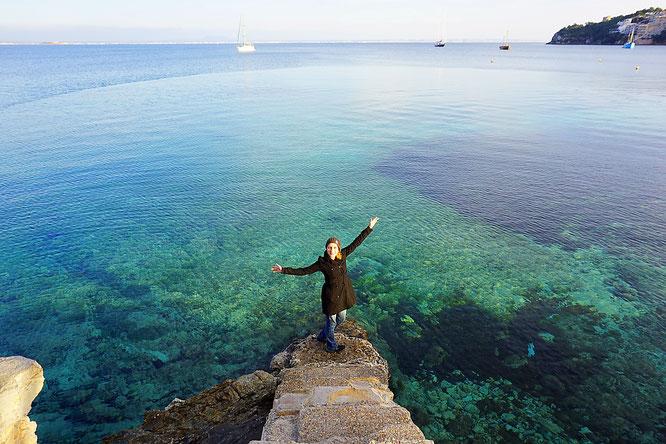 Magaluf, Mallorca, Steg, Meer, Sea
