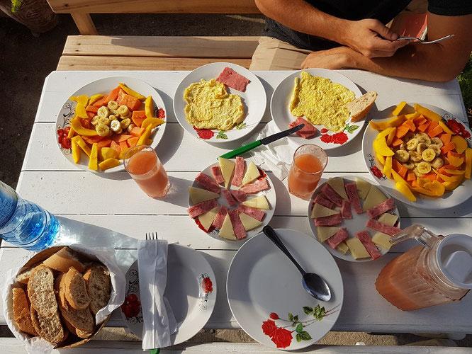 desayuno casa particular havanna cuba santiago de cuba früshtück