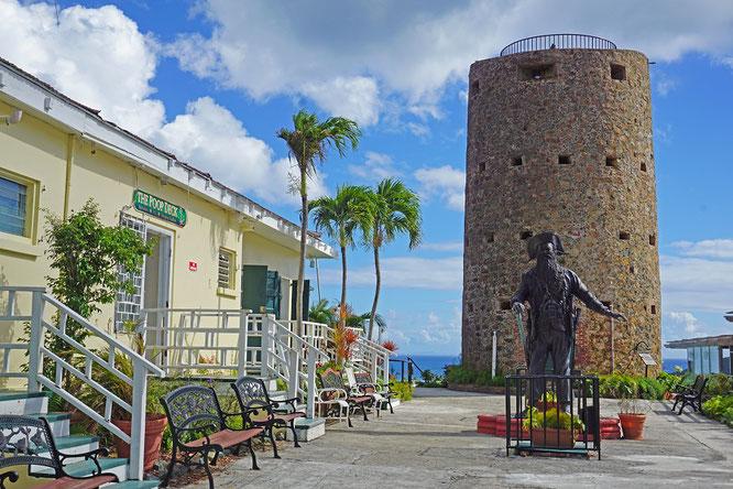Blackbeard's Castle, das älteste noch erhaltene Gebäude der Insel St. Thomas