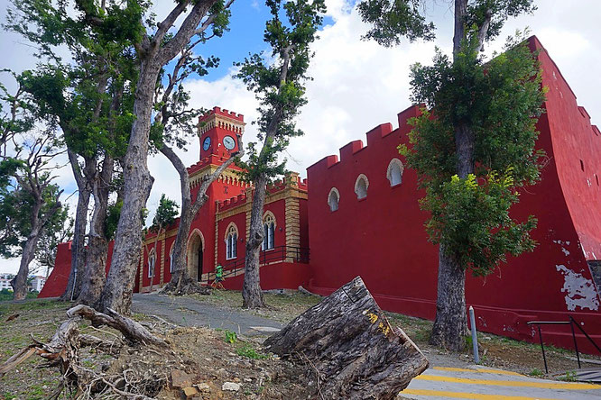 Das Fort Christian in Charlotte Amalie