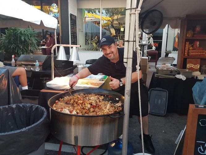 Leckere kubanische Küche im Riesentopf