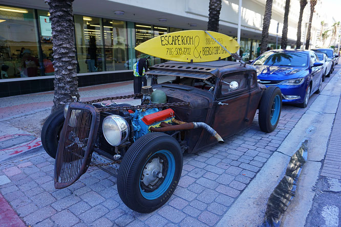 Hot Rod, Collins Avenue, South Beach
