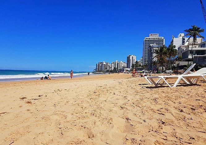 Der bezaubernde Atlantic Beach, Condado, San Juan