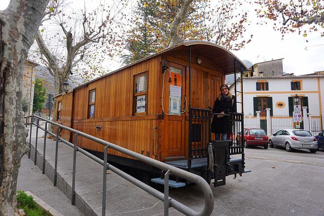 die Tranvia de Sóller oder auch Orangen-Express genannt