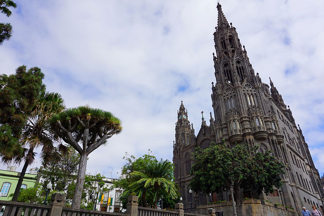 Kathedrale Arucas, Gran Canaria, Church, Catedral