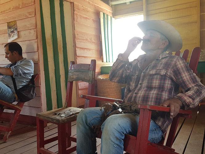 Die Kubaner und ihre Zigarren