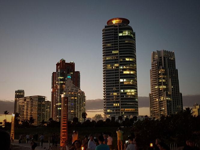 Auch Miami Beach hat seine Skyscraper!