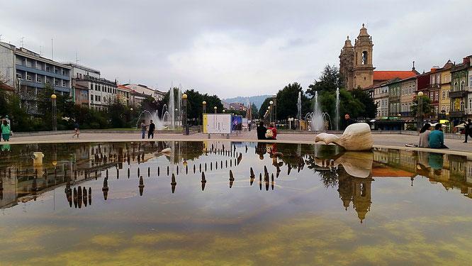 Praça da República, Braga, Portugal, Minho, Nordportugal