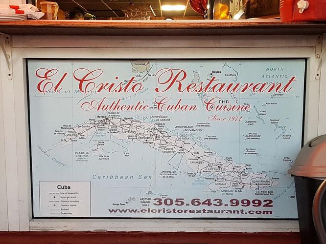 Das El Cristo im Herzen Little Havannas