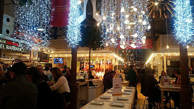 Mercado Lonja del Barranco, Sevilla, Seville, Spain, Spanien
