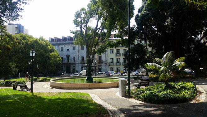 Brooklyn cafe, Lisboa, Lissabon, Portugal, Jardim Alfredo Keil