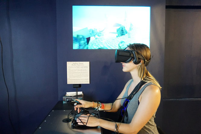 Virtual Reality im Pirates Treasure Museum auf St.Thomas