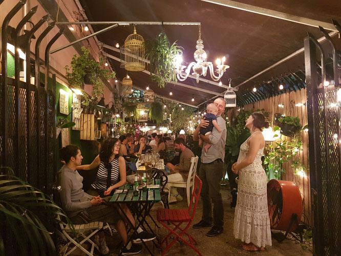 Das Café 'A La Folie' in Miami Beach - ein Traum!