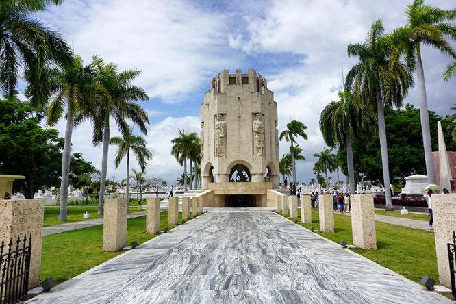 Beeindruckenswert: Das Mausoleum von José Marti in Santiago de Cuba