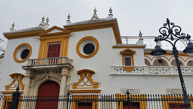Sevilla, La Maestranza, Plaza de Toros, Seville, Spain, Spanien