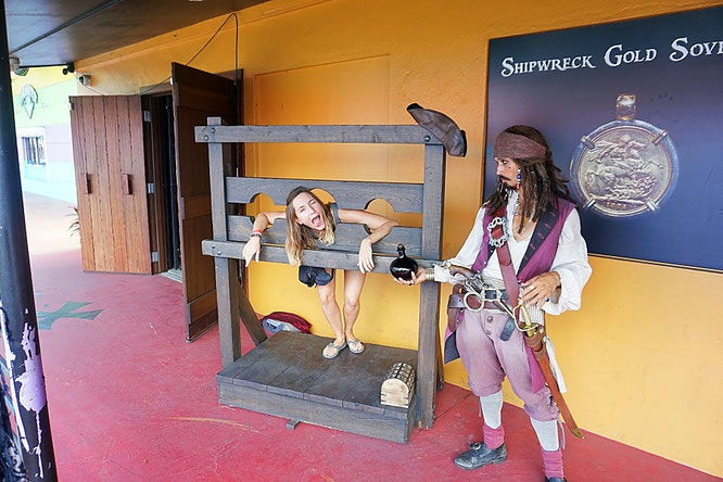 jack Sparrow, pirate treasure museum, st thomas, us virgin islands