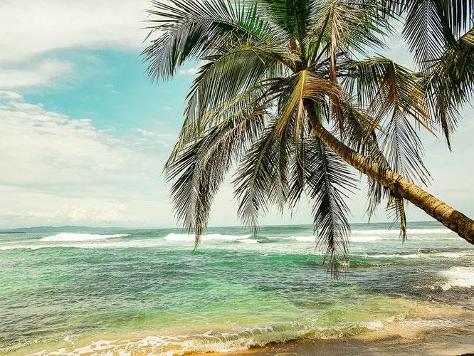 Die karibische Küste Costa Ricas