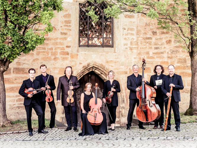 Das Thüringer Bachcollegium eröffnet das Festival, Foto: Jan Kobel
