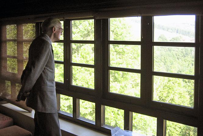 Eugenio Torrecilla en casa de Alfredo Hernández García, el 8 de junio de 2007