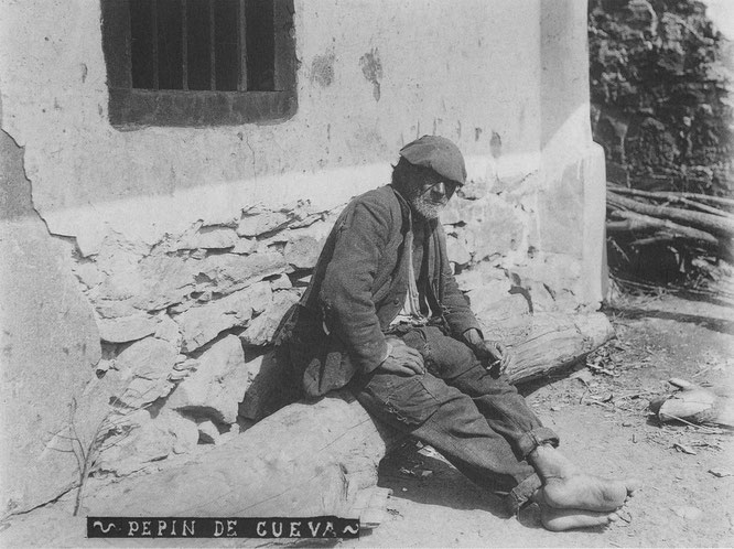 Modesto Montoto, «Pepín de Cueva», vidrio, 130 × 180 mm, Piloña (Asturias), c. 1915. © Muséu del Pueblu d'Asturies. Ayto. de Gijón