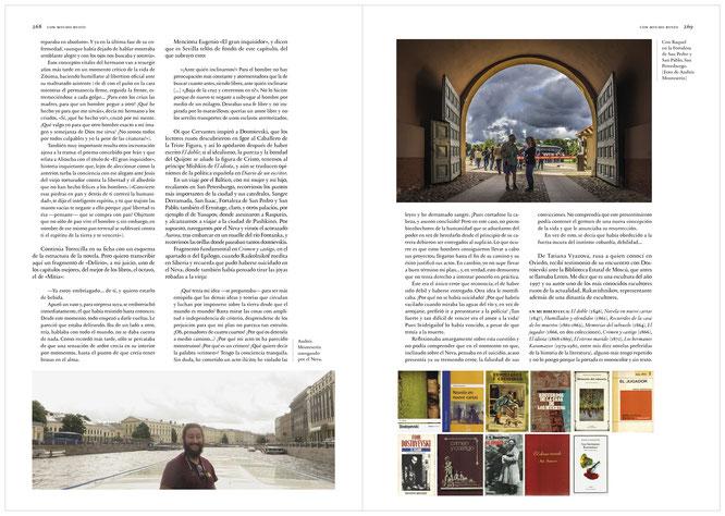 Páginas dedicadas a Dostoievski