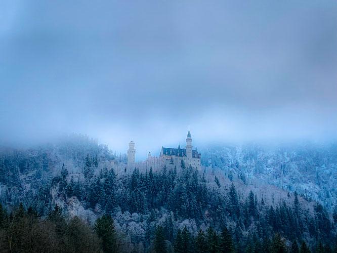 Wanderung Winter Schloss Neuschwanstein