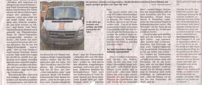Segeberger Zeitung 07.12.2018