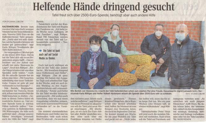 Segeberger Zeitung 28.04.2021