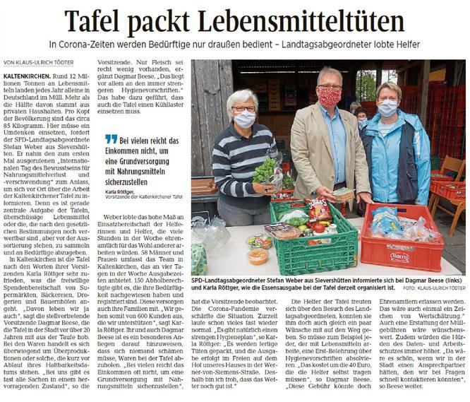 Segeberger Zeitung 01.10.2020